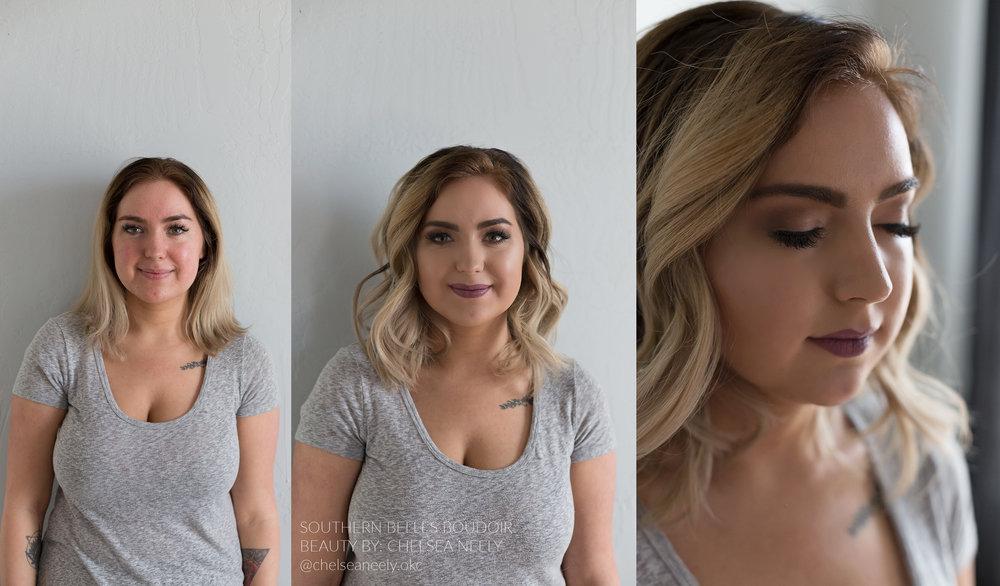 Southern Belles Boudoir   Beauty by: Chelsea Neely | @chelseaneely.okc    Bridal Boudoir of Oklahoma