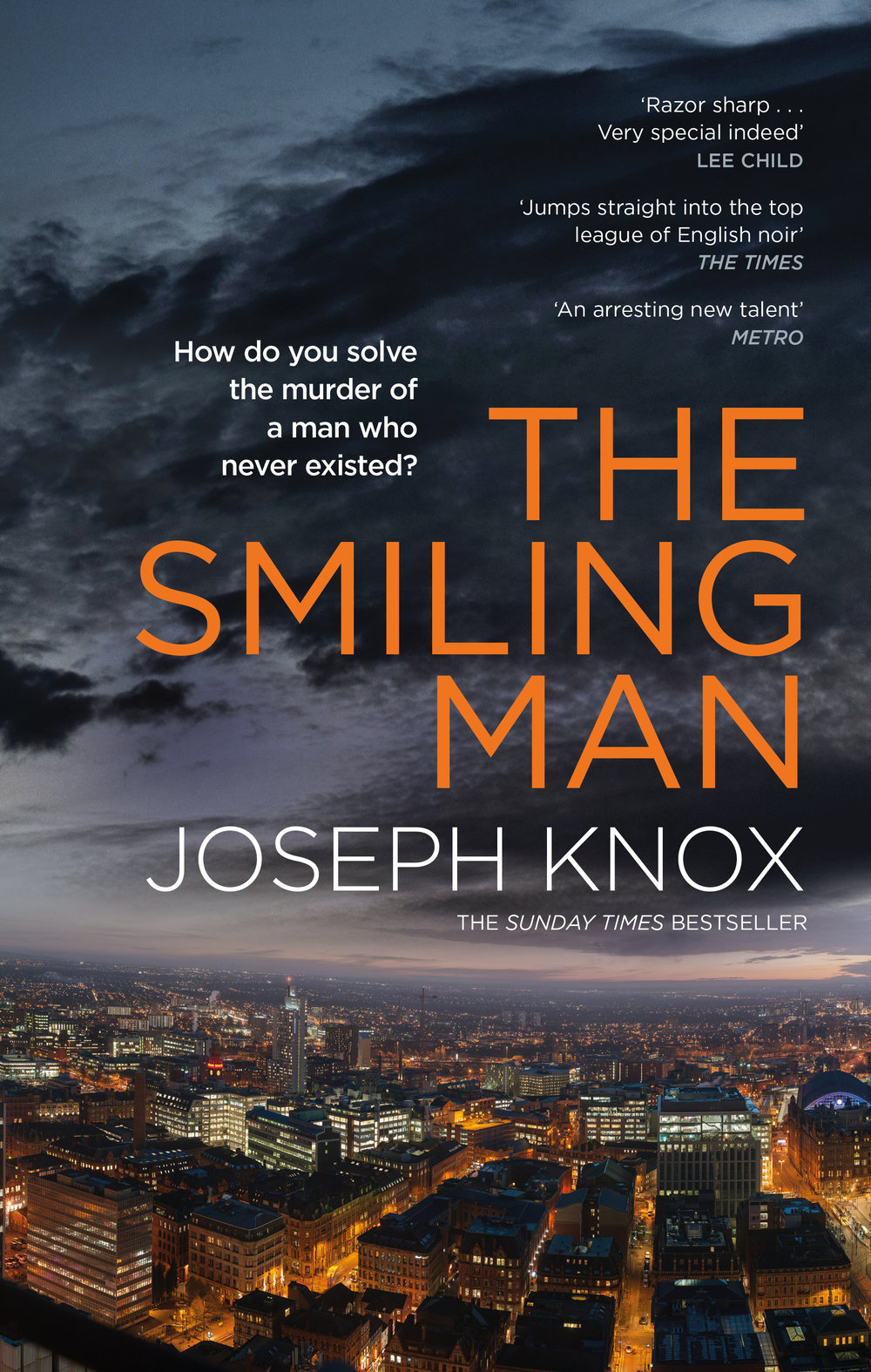 Some early feedback on The Smiling Man: - 'Knox writes electric novels. A major voice in fiction, and a writer of furious talent.' (A.J. Finn, author of The Woman in the Window)'Knox's first novel was pedal-to-the-floor stuff, and this is even more powerful. One thing is sure: Knox is no one-hit wonder.' (Barry Forshaw, The Guardian)'If you liked Sirens, you will love The Smiling Man. Gritty, noir, and packing a punch from the very first page.' (Jane Harper, author of The Dry)