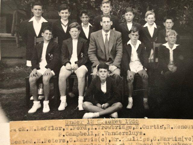 Under 12 cricket 1955