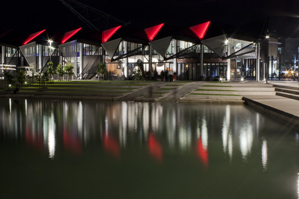 evenings on the lagoon at karaka.jpg