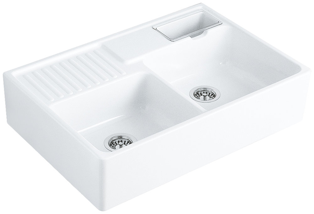 VILLEROY BOCH Butler Double Bowl Sink