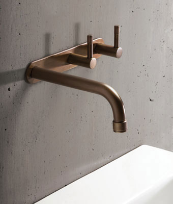 BRODWARE Yokato Wall Set in Weathered Brass