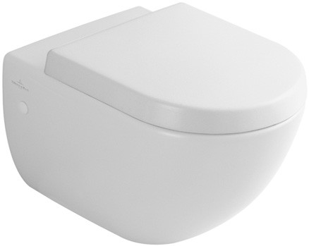VILLEROY & BOCH Subway Wall-Hung Pan & Seat