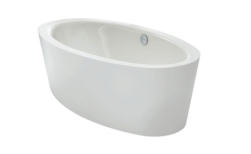BETTE Oval Silhouette Free-Standing Bath