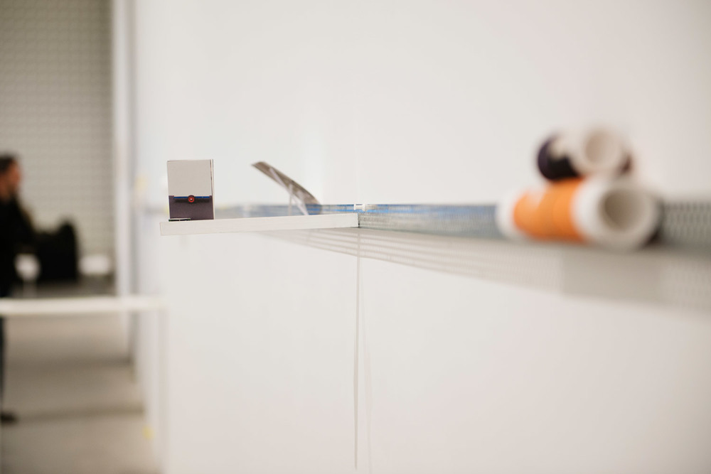 Shelf. 2015. Installation View Detail. Design Hub, Rmit University
