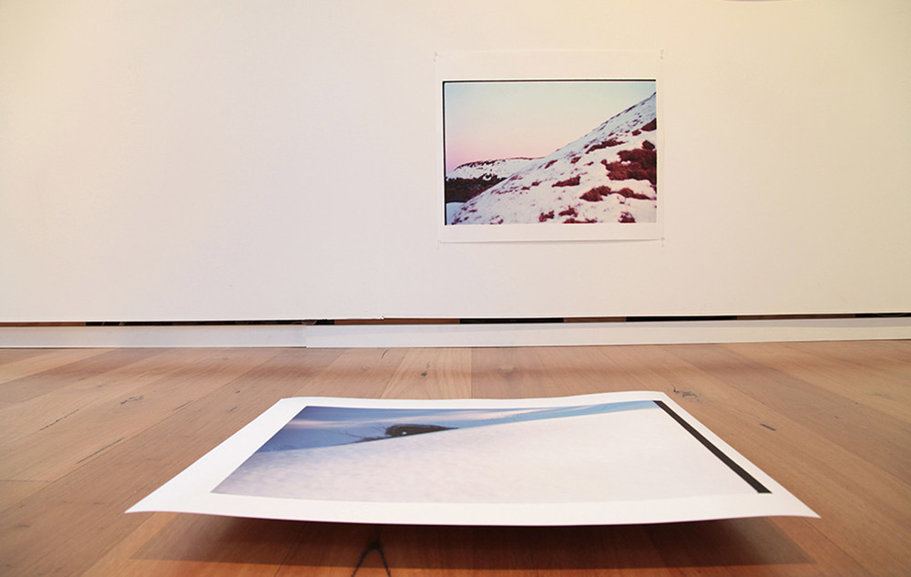 Snow Pile. Installation View. Beam Contemporary. 2013.