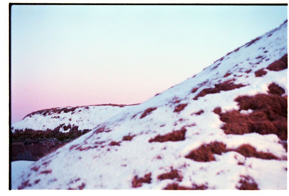 Snow Pile, The Island. 2012 (2013). Archival Inkjet Print on Hahnemühle photo rag. 70x40cm. Edition of 5 + 2AP.