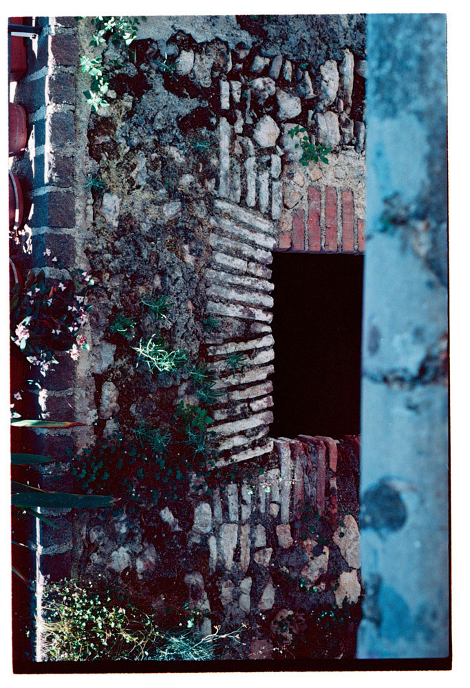 Stone Work [Brick and Stonework, possibly around an entrance to a tunnel] Archival Inkjet Print on Hahnemühle Photo Rag. 89x48cm. Edition of 5 + 2AP.