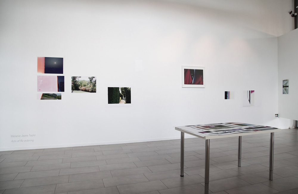 Acts of Re-ordering. 2013. Installation View.