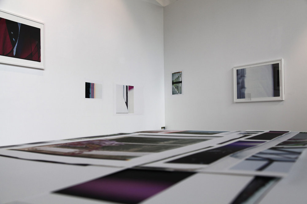 Across Surfaces - Acts of Re-ordering. 2013. Installation View. Queensland Centre for Photography.