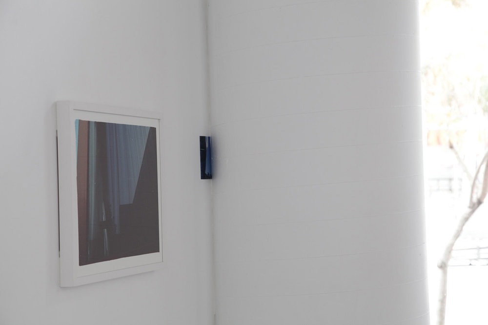 Leading up to the window - Acts of Re-ordering. 2013. Installation View. Queensland Centre for Photography