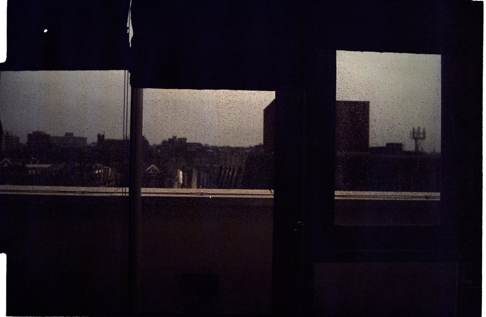 Dark Departure, with Rain on the Windows. 2008 (2010). Archival Inkjet Print on Hahnemühle Photo Rag. 45x30cm. Edition of 5 + 2 Ap.