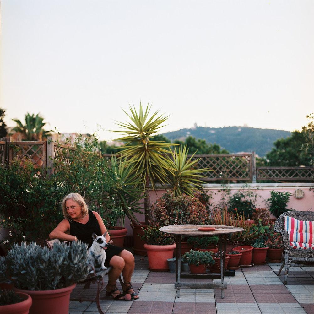Gardener Archive. 2016. Fina, in her garden in Barcelona, Spain.