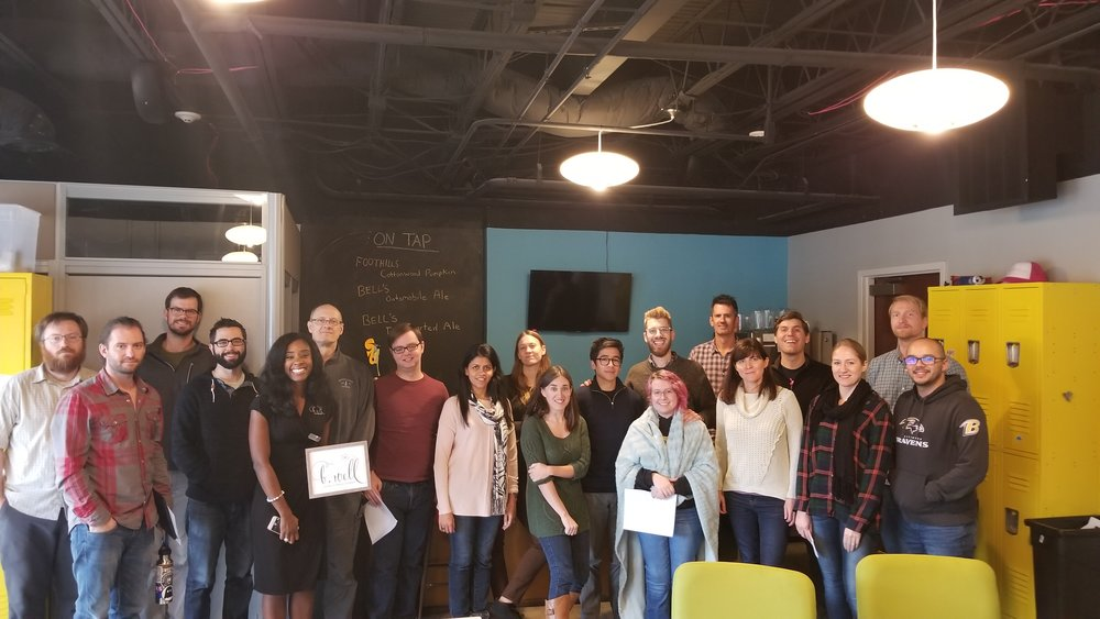 B. Well supports  Atlantic BT , a Raleigh based web Design Company increase wellness in the workplace. What a great team!