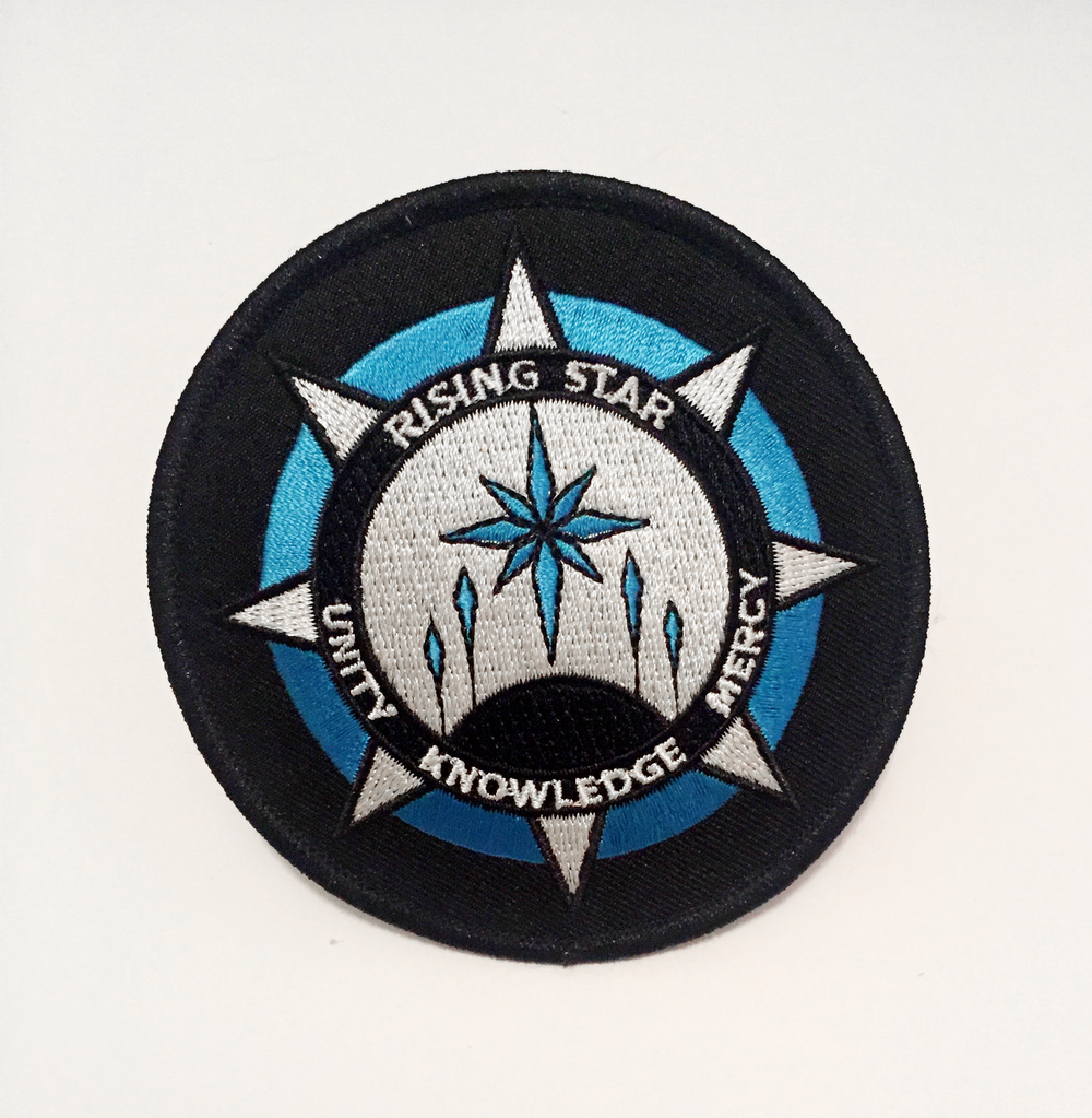 """Embroidered Patch ( 3.5"""" )"""