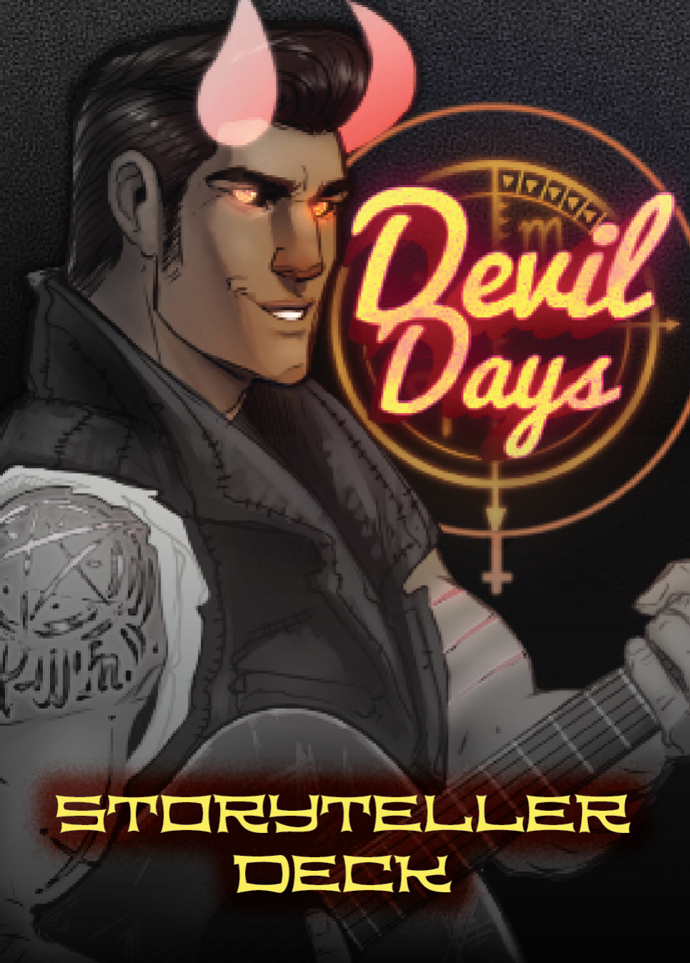 Devil Days Card Back: Storyteller Variant
