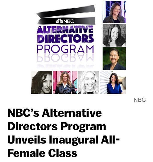 Congratulations to our director, @annettalm, on⁣ being chosen for the NBC's Alternative Directors Program! Annetta, will be shadowing the director of Amy Pohler's show Making It -  And in addition will be directing and episode!!! ⁣ ⁣ . . . ⁣ ⁣ #nbc  #alternativedirectorsprogram #directors #comedy #amypohler #makingit #televison #tv #televisioncomedy