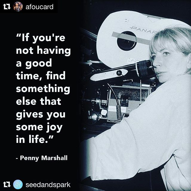 "#Repost @afoucard ・・・ Penny Marshall, thank you for your being a trailblazer. ⁣⁣⁣⁣ ⁣⁣ . . . ⁣⁣ ⁣⁣ ""Remembering the legendary Penny Marshall, a woman who helped forge a path for so many others in the industry.""⁣⁣⁣⁣ ⁣⁣⁣ . . .⁣⁣⁣⁣ ⁣⁣⁣⁣ #pennymarshall #rippennymarshall #trailblazerss #womeninfilm #womenintv #filmmakersoughts.⁣⁣ ⁣⁣ . . .⁣⁣ ⁣⁣ RP: @seedandspark ⁣⁣@afoucard"