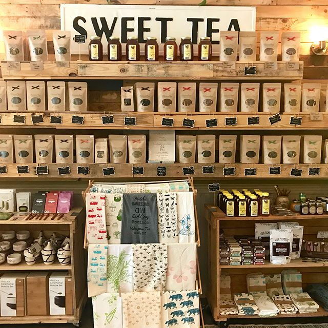 We are on a road trip 🚘 through the south and stopped by @vidapourtea in Greensboro, NC! They carry our tea list t-shirts and have the most amazing teas! I got the peppermint chocolate and it was seriously the best tea I've ever had. If you're in the area be sure to stop by! 💕 . . . #tea #teashop #cupoftea #greensboro #nc #vidapourtea #peperminttea #earlgrey #teatime #afternoontea #roadtrip #tasteofthesouth #bestofgreensboro #shopsmall
