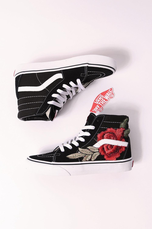 scarpe vans rose rosse