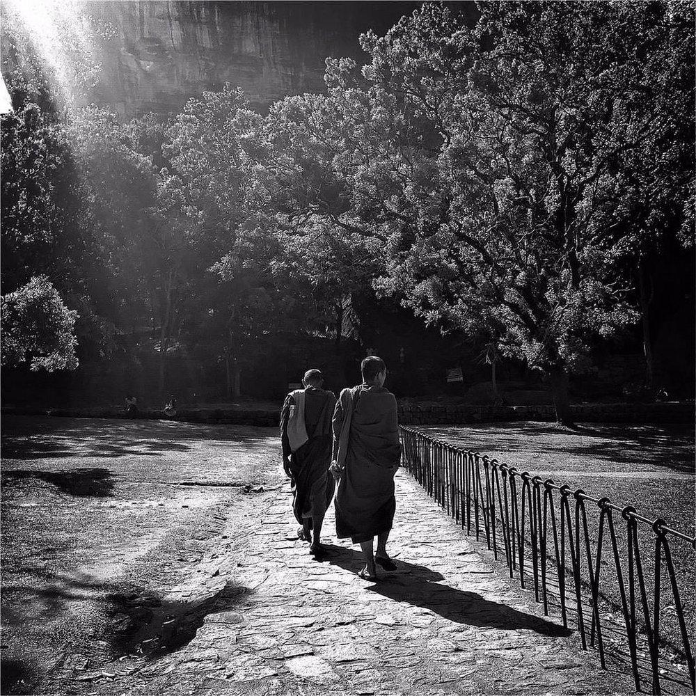 #Hipstamatic #Watts #Aristotle #sigiriya #lion_rock #srilanka #sri_lanka #ceylon #asia #monks #Buddhism #world_heritage #iphone #iphone6s