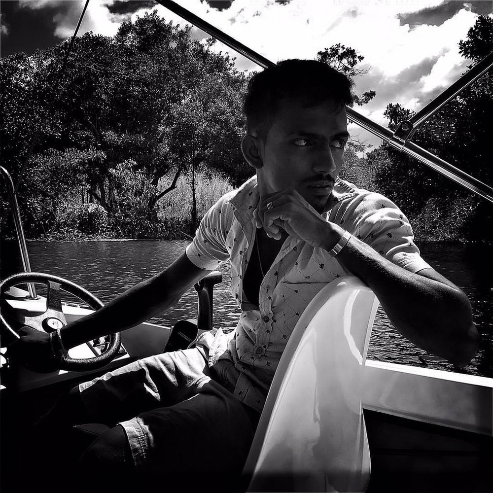 #Hipstamatic #JohnS #Aristotle #ceylon #srilanka #colombo #fishery #sunday #fishing #blackandwhite #portrait