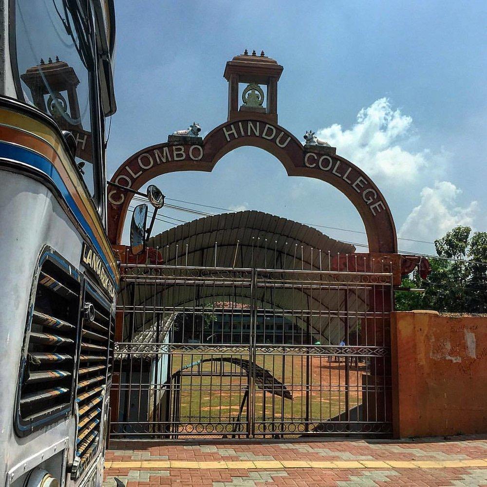 #Colombo #street_photography #sri_lanka #hindu #college #iphone #iphoneography  (at Colombo Hindu College)