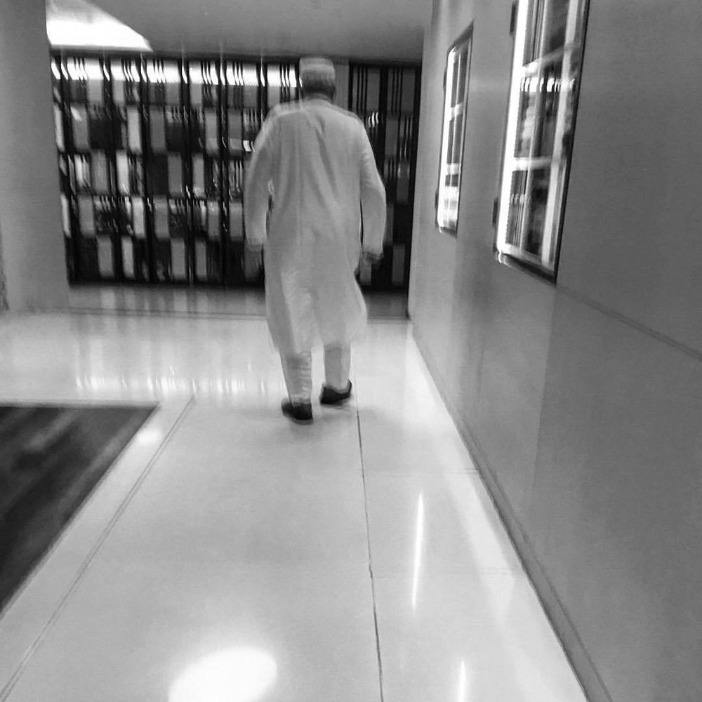 Muslim #street_photography #colombo #sri_lanka #blackandwhite #bw  (at Hilton Colombo Residence)