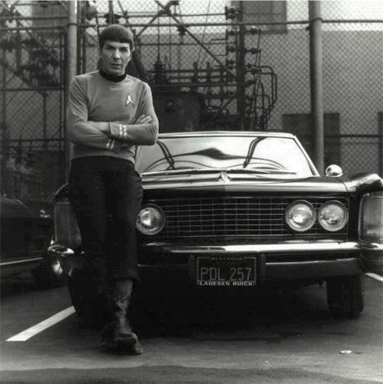 theverge :     We miss you, Spock.