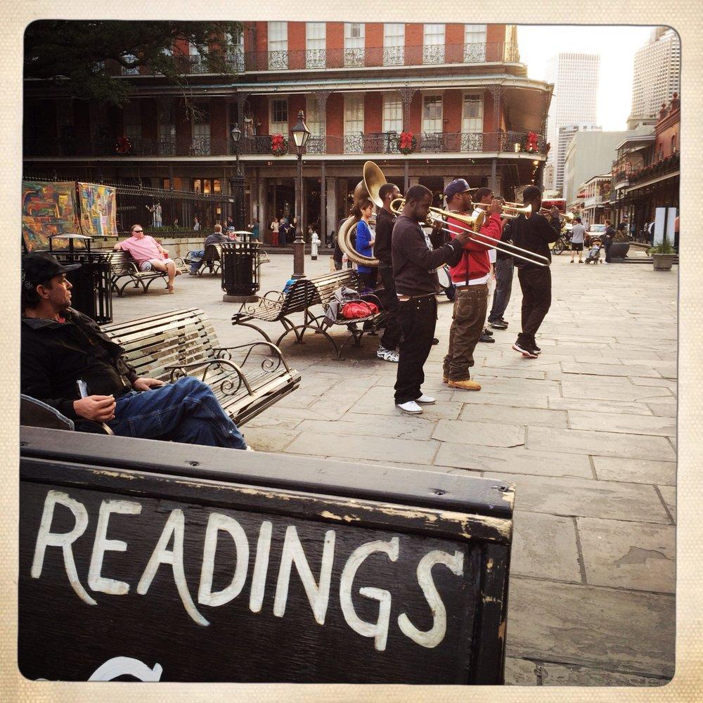 Uma mais da cidade #nola #new_orleans #street_music