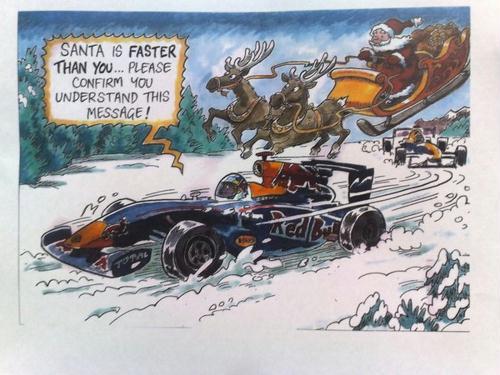 O cartão de Natal de Felipe Massa, cortesia da Red Bull Racing   http://grandepremio.ig.com.br/formula1/2010/12/24/campea+de+tudo+em+2010+red+bull+ironiza+ferrari+em+cartao+de+natal+10334529.html