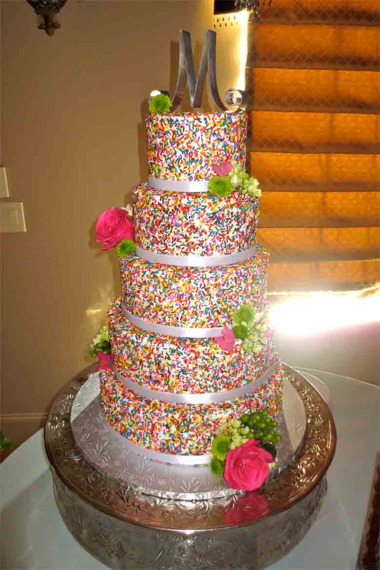 Jenny Layne Bakery Dallas DFW Wedding Cake 38