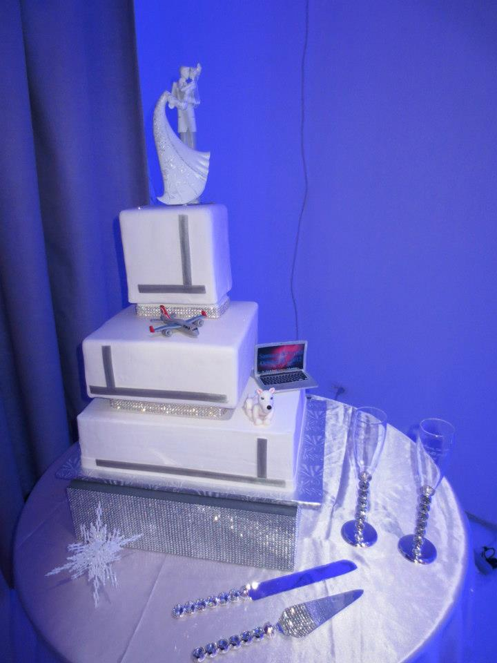 Jenny Layne Bakery Dallas DFW Wedding Cake 37