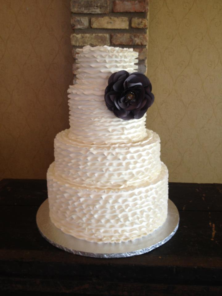 Jenny Layne Bakery Dallas DFW Wedding Cake 36