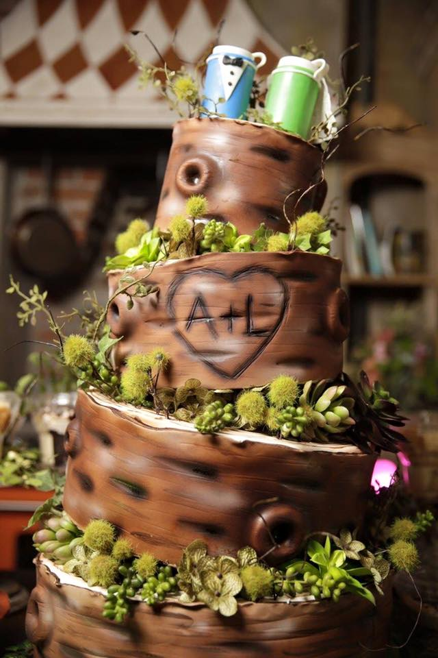 Jenny Layne Bakery Dallas DFW Wedding Cake 43