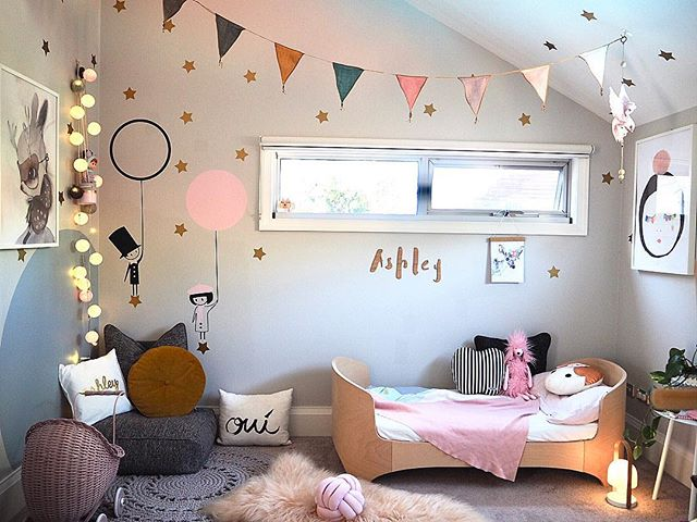 Ashley's room gets a mini makeover, we've converted her cot into a junior bed 😱 #yellowdoordesigns #interiorstyling #interiordesign #kidsroom #sharemystyle #sharemystylekidsroom #insideout