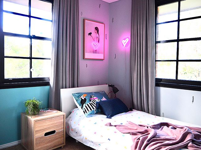 So good to see your designs come to life! I designed this girls bedroom a little while ago, it's now done and looks gorgeous 👌😍 #yellowdoordesigns #interiordesign #interiorstyling #sharemystylekidsroom