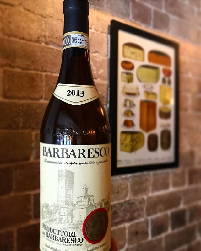 It may seem odd to pair a 2013 Barbaresco with our #spagbowlmondays ... but then again it makes sense. Plus we only have the one bottle to sell by the glass. So it's the opportunity of a lifetime #bigpoppascheeseclub #bigpoppaswine