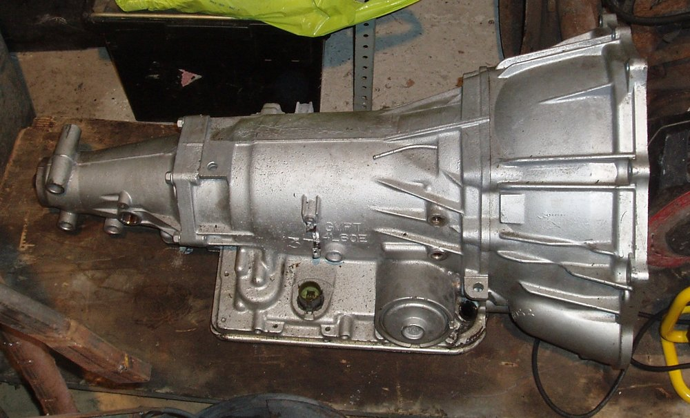 This is the GM 4L60 automatic gearbox destined for this build but a Tremec manual gearbox would be highly suitable as well...