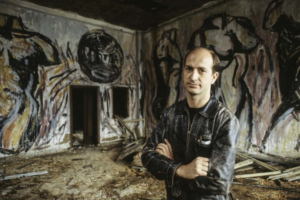 Andreas Sterzing,  Luis Frangella Murals at the Pier,  1983. Courtesy of the artist and Hunter College Art Galleries, New York.