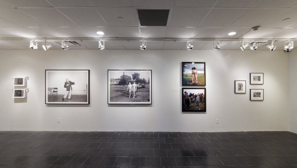 Installation view:       Framing Community: Magnum Photos, 1947–Present,  Hunter College Art Galleries, 2017. Photo by Stan Narten.