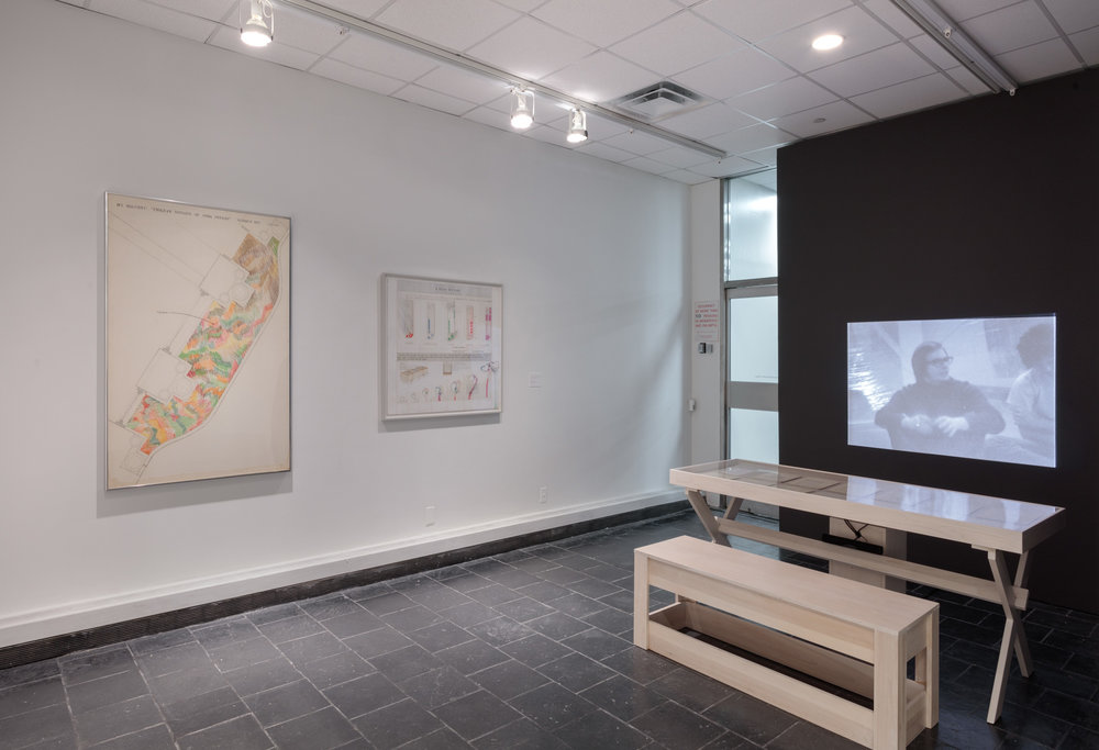 Installation View:  The School of Survival: Learning with Juan Downey , Hunter College Art Galleries, 2018. Photo by Stan Narten.