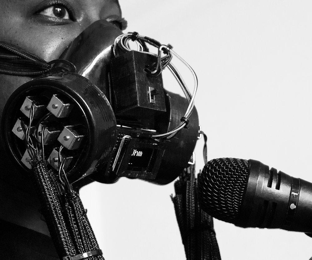 IMAGE:  Solenoid Respirator Instr/augment.  Photo: Sophia Barr Hayne & Lee Blalock