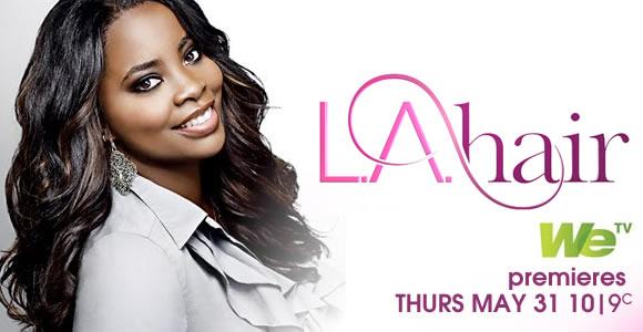 Bingo !!! Je me suis souvenue de l'émission que je regardais à l'époque: LA Hair! Kim Kimble est la responsable du salon, et la coiffeuse qui s'occupe de nombreuses célébrités comme Beyonce dont je suis une vraie fan au passage! Enfin Bref, direction Santa Monica Boulevard ...