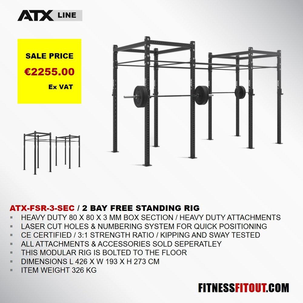 ATX  2 BAY FREE STANDING RIG