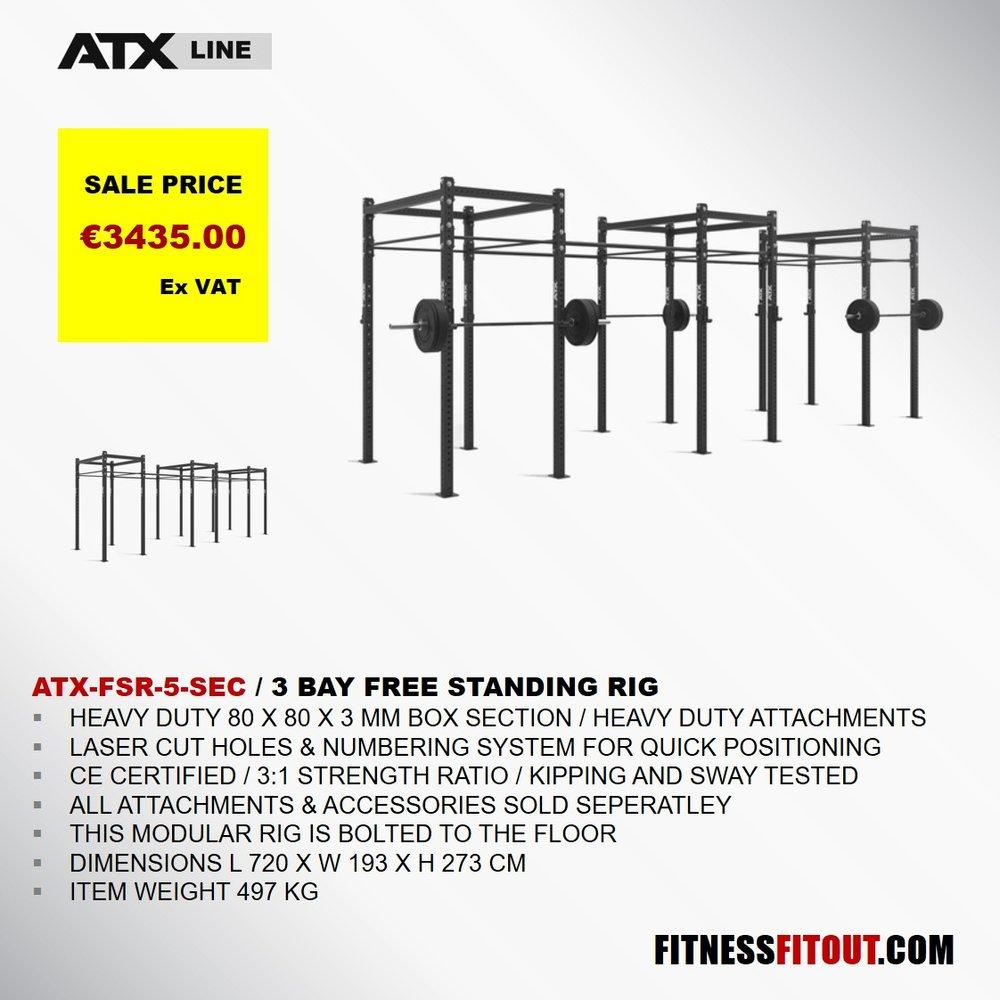 ATX  3 BAY FREE STANDING RIG