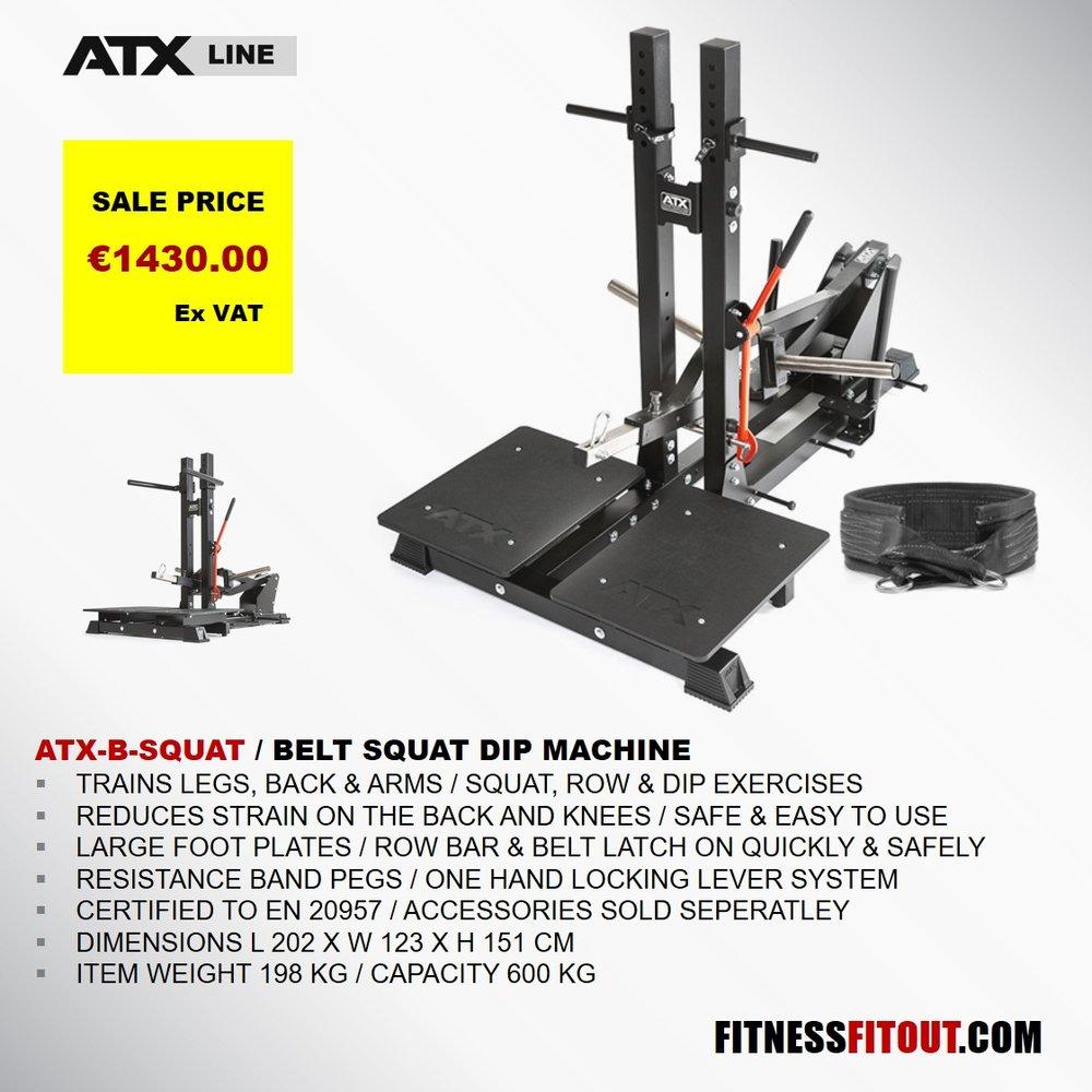 ATX  BELT SQUAT DIP MACHINE