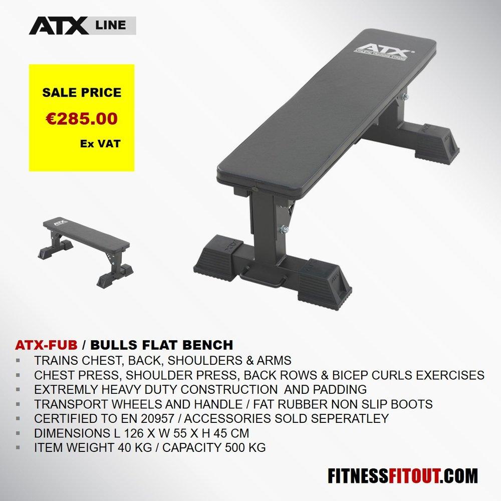 ATX  BULLS FLAT BENCH