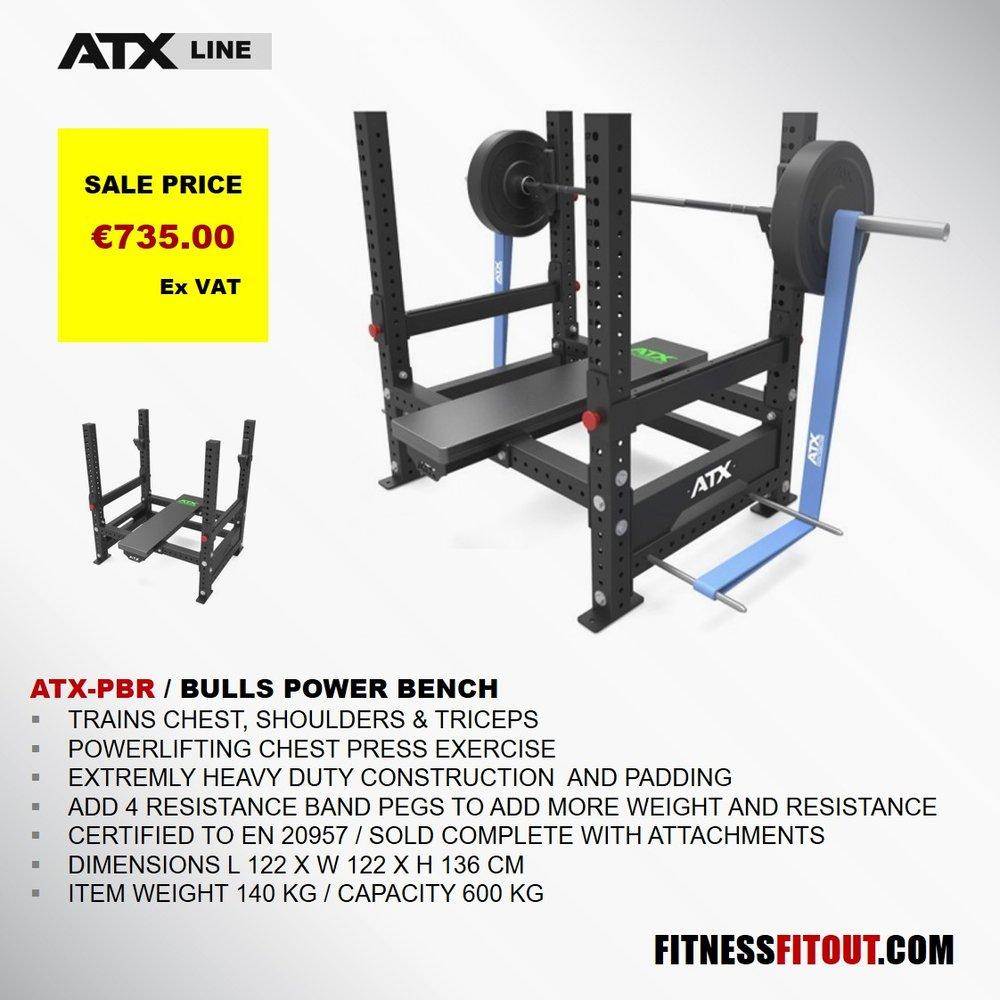 ATX  BULLS POWER BENCH