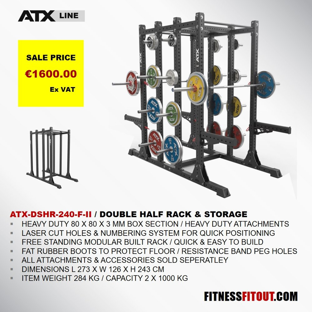 ATX  DOUBLE HALF RACK & STORAGE